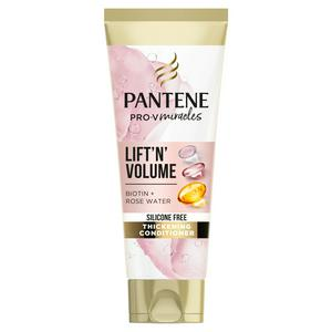 Pantene Pro-V Lift & Volume Silicone Free Hair Conditioner with Biotin & Rose Water 275ml