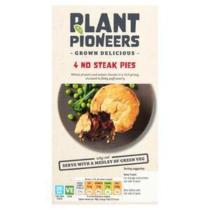 Plant Pioneers No Steak Pies x4 600g