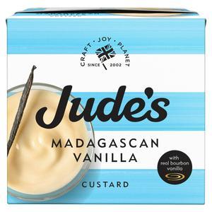 Judes Madagascan Vanilla Custard 500g