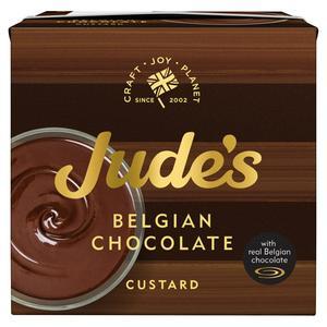 Judes Belgian Chocolate Custard 500g