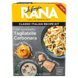 La Famiglia Rana Recipe Kit Tagliatelle Carbonara 407g