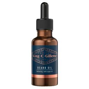 King C Gillette Men?s Beard Oil, 30 ml