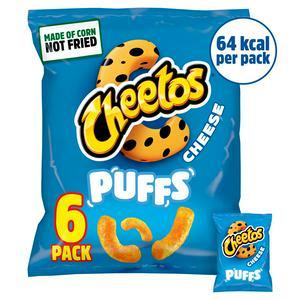 Cheetos Puffs Cheese Snacks 8x13g