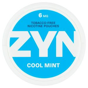 ZYN Nicotine Pouch Cool Mint Strong 6mg