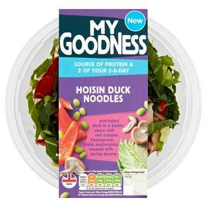 Sainsbury's My Goodness! Hoisin Duck Noodles 380g