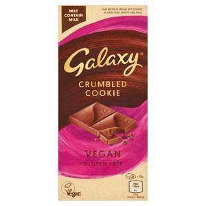 Galaxy Vegan Crumbled Cookie Bar 100g