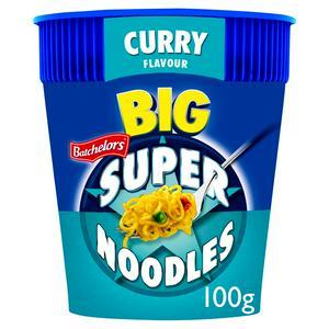 Batchelors Big Super Noodles Curry Flavour 100g