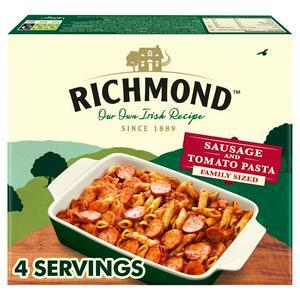 Richmond Family Sausage & Tomato Pasta 1.4kg (Serves 4)