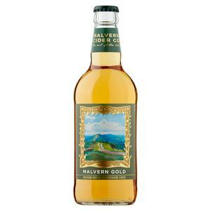 Malvern Gold Medium Dry Herefordshire Cider 500ml
