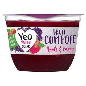Yeo Valley Organic Fruit Compote Apple & Berry 220g