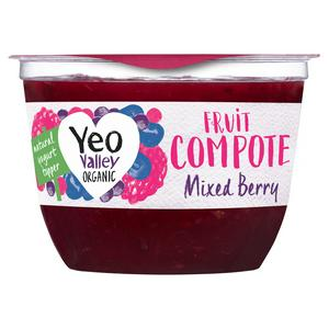 Yeo Valley Organic Fruit Compote Mixed Berry 220g