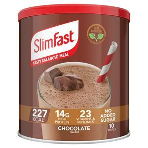 SlimFast Powder Tin Chocolate Flavour Shake 375g
