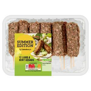 Sainsbury's Lamb & Mint Kebabs Summer Edition 720g