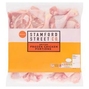 Sainsbury's British Frozen Chicken Mixed Portions Pack 2kg