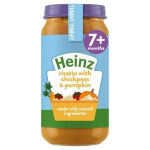 Heinz Risotto with Chickpeas & Pumpkin 7+ Months 200g
