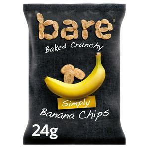Bare Fruit Snacks Banana Chips 24g