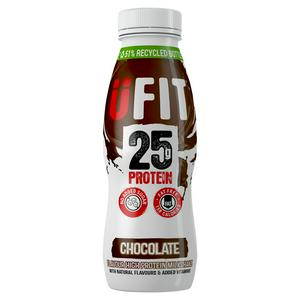 Ufit High Protein Shake Drink Chocolate 330ml