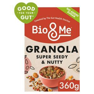 Bio&Me Super Seedy & Nutty Gut Loving Granola 360g