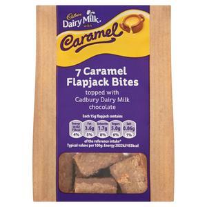 Cadbury Dairy Milk with Caramel Caramel Flapjack Bites x7