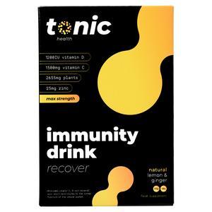 Tonic Health Natural Lemon & Honey High Dose Immunity Drink 10x5.5g