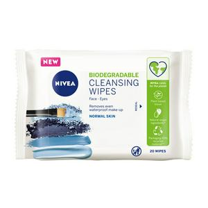 Nivea Biodegradable Refreshing Cleansing Wipes x20