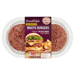 Finnebrogue Wagyu Beef Burgers x2 340g