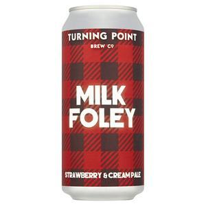 Turning Point Milk Foley Strawberry & Cream Pale 440ml