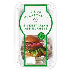 Linda McCartney's Vegetarian Burgers x2 227g