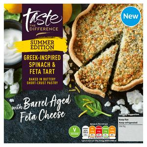 Sainsbury's Spinach & Feta Tart, Taste the Difference 400g