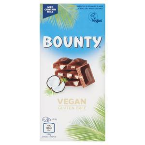 Bounty Vegan Gluten Free Chocolate 100g