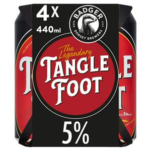 Badger The Legendary Tangle Foot Traditional Golden Ale 4x440ml
