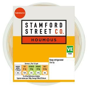 Stamford Street Food Company Houmous 200g