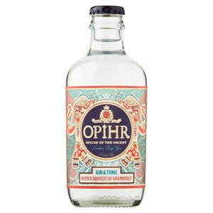 Opihr Gin & Tonic with a Squeeze of Grapefruit, 275ml