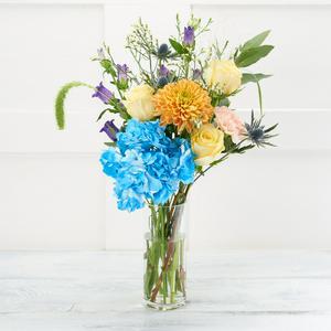 Sainsbury's Blue Coral Bouquet