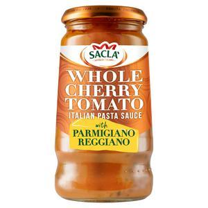 Sacla' Whole Cherry Tomato Italian Pasta Sauce with Parmesan 350g