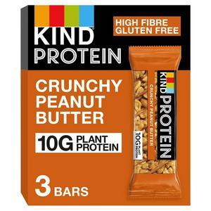Kind Protein Crunchy Peanut Butter 3x42g