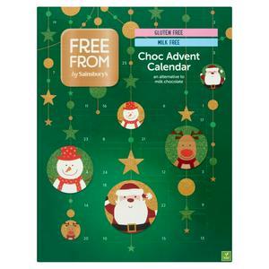 Sainsbury's Free From Choc Advent Calendar 93g