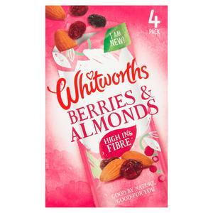 Whitworths Berries & Almonds 4x20g