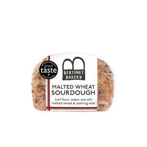 Bertinet Bakery Malted Wheat Sourdough Loaf 500g