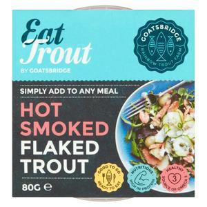 Goatsbridge Hot Smoked Flaked Trout 80g