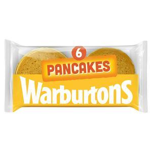 SAINSBURYS > General > Warburtons Pancakes x6