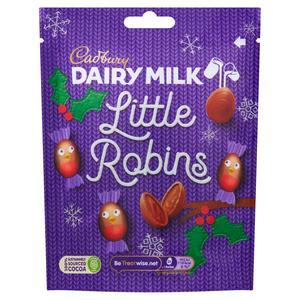 Cadbury Dairy Milk Little Robins Bag 77g