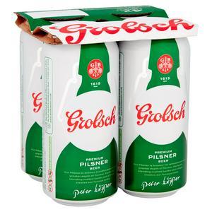 Grolsch Premium Pilsner Beer 4x440ml