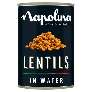 Napolina Lentils in Water 400g