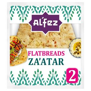 Al'Fez Middle Eastern Za'atar Flatbreads x2