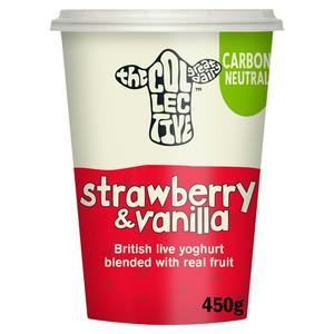 The Collective Strawberry & Vanilla Yoghurt 450g