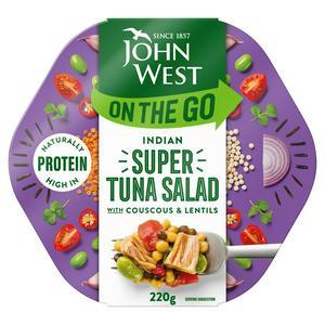 John West On the Go Indian Super Tuna Salad 220g