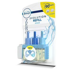 Febreze 3Volution Zero% Air Freshener Plug-In Refill Aqua