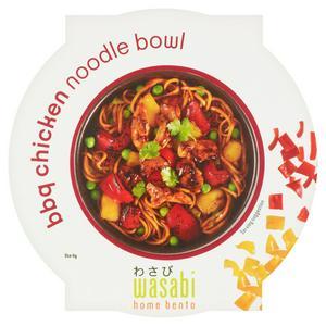 Wasabi Home Bento BBQ Chicken Noodle Bowl 300g