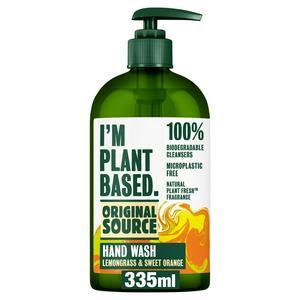 Original Source Hand Wash Lemongrass & Sweet Orange 335ml